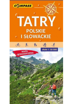 Mapa tur. Tatry Polskie i Słowackie 1:50 000