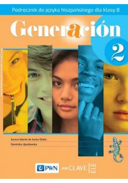 Generacion 2 Podręcznik SP 8 PWN