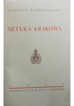 Sztuka Krakowa 1950 r.