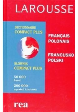 Słownik compact plus francusko - polski