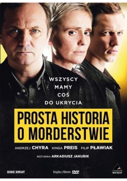Prosta historia o morderstwie DVD + książka