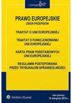Prawo Europejskie. Zbiór przepisów w.5
