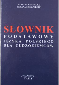 Słownik podstawowy języka polskiego dla cudzoziemców.