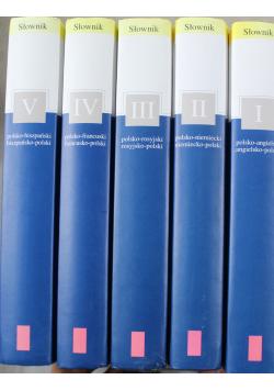 Słownik 5 tomów
