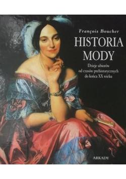 Historia mody Dzieje ubiorów od czasów prehistorycznych do końca XX wieku
