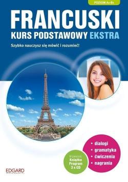 Francuski Kurs podstawowy ekstra + 3 Płyty CD