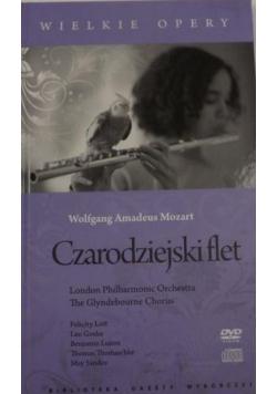 Czarodziejski flet DVD CD