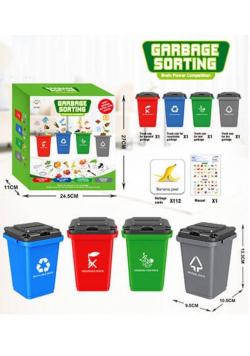Gra segregowanie odpadów do nauki angielskiego