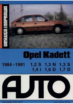 Obsługa i naprawa Opel Kadett