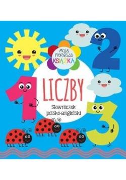 Moja pierwsza książka Liczby. Słowniczek pol-ang