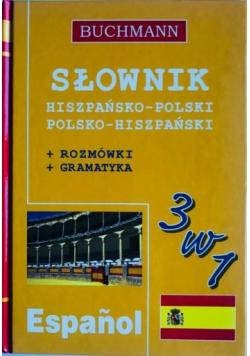 Słownik hiszpańsko - polski polsko - hiszpański