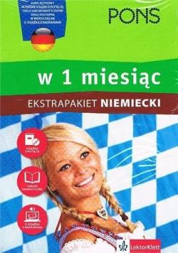 Niemiecki w 1 miesiąc Ekstrapakiet plus 2 CD