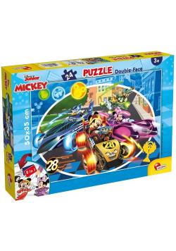 Puzzle dwustronne Myszka Miki 24