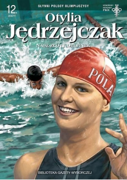 Otylia Jędrzejczak Złoty delfinek z Polski