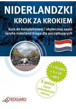 Niderlandzki   Krok za krokiem  CD w komplecie