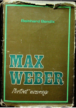 Max Weber portret uczonego