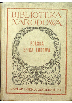 Polska epika ludowa