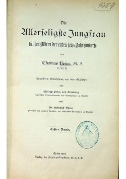Die Allerseligste Jungfrau 1901 r.