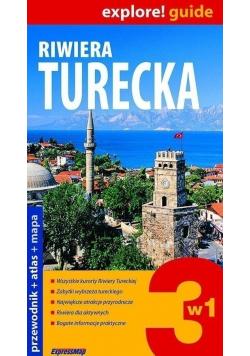 Riwiera turecka przewodnik  z mapą
