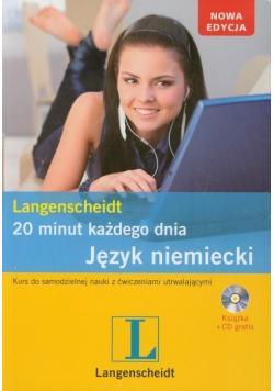 20 minut każdego dnia Język niemiecki plus płyta CD