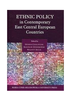 Ethnic Policy in Contemporary East Central Europea