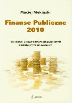 Finanse Publiczne 2010
