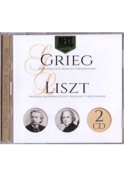Wielcy kompozytorzy - Grieg, Liszt (2 CD)