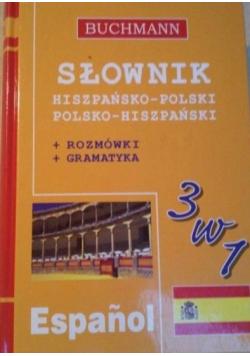 Słownik hiszpańsko polski polsko hiszpański