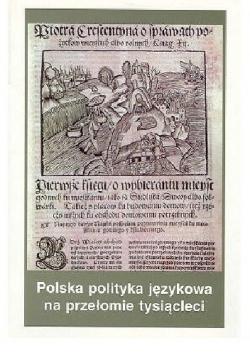 Polska polityka językowa na przełomie tysiącleci