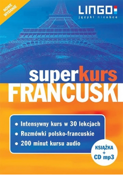 Francuski Superkurs + płyta CD