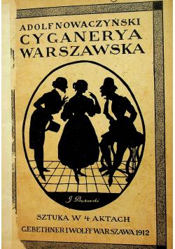 Cyganerta warszawska 1912r