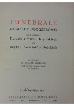 Funebrale obrzędy pogrzebowe
