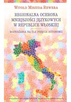 Regionalna ochrona mniejszości językowych..
