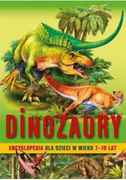 Dinozaury encyklopedia dla dzieci w wieku 7 10 lat