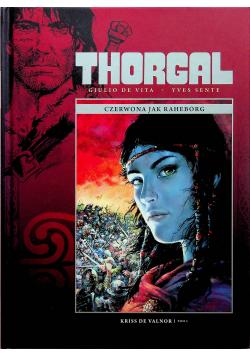 Thorgal Czerwona jak Raheborg