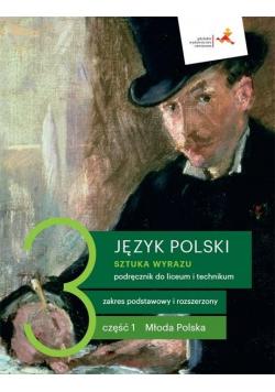 J. Polski LO 3 Sztuka wyrazu cz.1 podr. ZPR w.2021