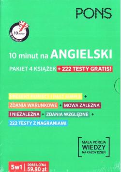 Pakiet: 10 minut na angielski