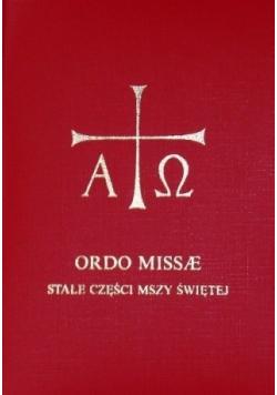 Ordo missae stałe części mszy świętej