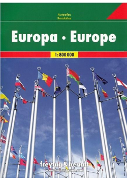 Atlas samochodowy - Europa 1:800 000