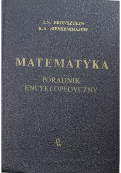 Matematyka poradnik encyklopedyczny