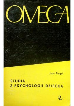 Studia z psychologii dziecka