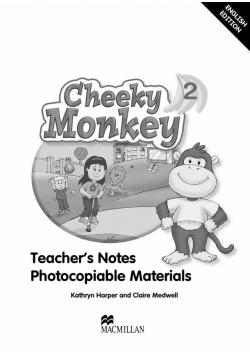 Cheeky Monkey 2 Książka nauczyciela MACMILLAN