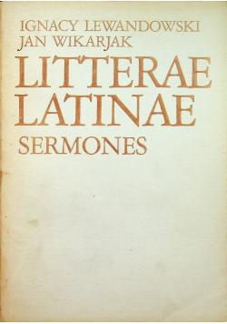 Litterae latinae semones