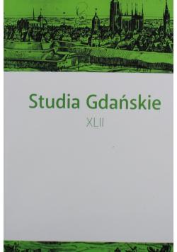 Studia Gdańskie XLII
