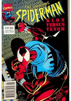 The Amazing Spiderman Nr 5 Klon versus Venom
