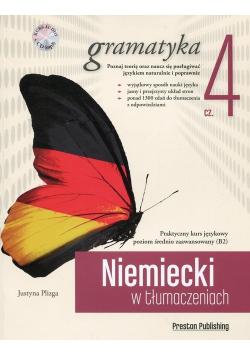 Niemiecki w tłumaczeniach Gramatyka Część 4