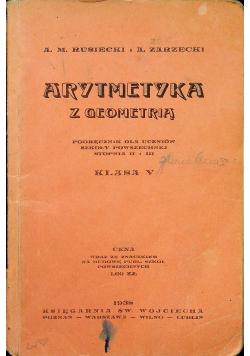 Arytmetyka z geometrią 1938 r.
