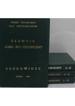 Słownik agro bio techniczny 4 tomy