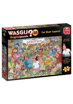 Puzzle 1000 Wasgij Wyprzedaż z bagażnika G3