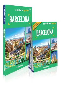 Barcelona light przewodnik + mapa